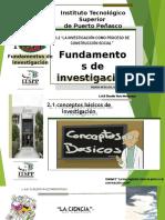 Fundamentos de Investigación Unidad II