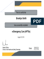 e-emergency care