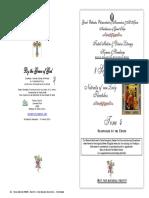 2016 - 8 Sept - Nativity Theotokos