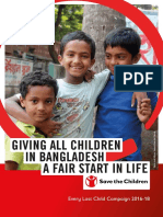 Giving All Children in Bangladesh a Fair Start in Life