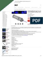Blue Laser Pointer 20000mW is High Power Millitary Laser Pen