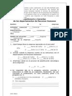 Encuesta Posic. Estrategico RRHH -  Cuestionario a GERENTE RH