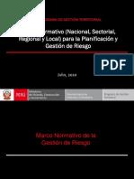 Marco Normativo Para La Planificacion y Gestion de Riesgos en La Region