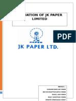 JK Paper Report