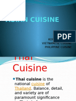 Thai Cuisine Slide