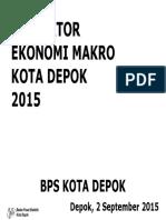 Indikator Ekonomi Kota Depok 2014 Awal