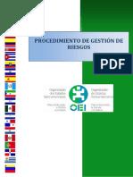 ProcedimiePROCEDIMIENTO DE GESTIÓN DE RIESGOSnto de Gestion de Riesgos-Actualizado