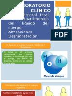 Laboratorio Clínico Clase 2 DESHIDRATACION
