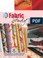 Fabric Study - (Textbook + Practical Manual) XII