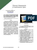 3D Photonic Metamaterials and Transformation Optics