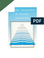 Programa Religion de Las Iglesias y Corporaciones Evangelicas de Chile (1)