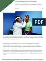 Inaugurada Área de Foniatría y Psicopedagogía en El C.N.E.D. Dr