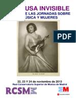 La Musa invisible. ACTAS Música y Mujeres
