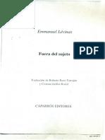 Levinas (1985) Los derechos humanos y los derechos del otro..pdf