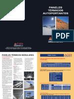ACIER - Folleto Técnico Paneles Térmicos Autoportantes