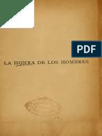 Benavente, J. La Honra de Los Hombres