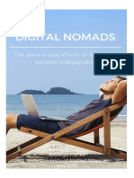 Digital Nomads- The Drivers And Effects Of Becoming Location Independent by Kayleigh Franks