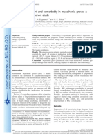 Total drug treatment and comorbidity in myasthenia gravis