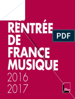 La rentrée de France Musique