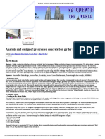 Analysis and Design of Prestressed Concrete Box Girder Bridge