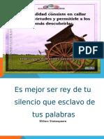 diapositivas sobre el silencio