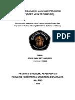 Lp Dvt Deep Vein Trombosis
