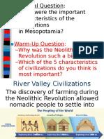 river valley civilizations--mesopotamia