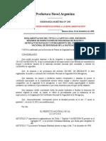 Prefectura Naval Argentina - Inspecciones de Seguridad