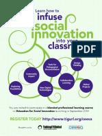 social innovation esi ceesa 2016 flyer