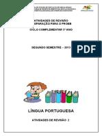 Lingua Portuguesa 5ano
