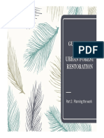 Guidelines for urban forest restoration