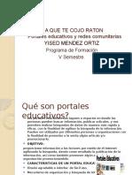 Presentacion Comunidades Virtuales Lista