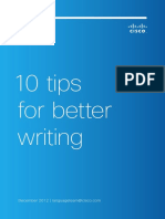 10 Tips for Better Writing