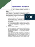 Urbanismo Instalaciones Sanitarias Para Acueductos Capitulo u.4