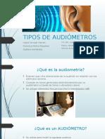 Tipos de Audiometros