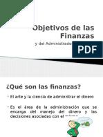 1 - Ojetivos de Las Finanzas