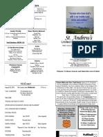 St Andrews Bulletin 828 A