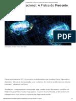 Física Computacional_ a Física Do Presente (e Do Futuro) _ Universo Racionalista