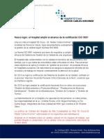 Certificacion Calidad 2015