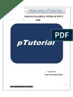 Java Programs Examples