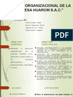 Análisis Organizacional de La Empresa Huarom s.pptx (1)