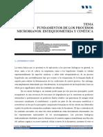 Estequiometría Bacteriana