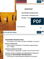 Sincronismo Organizacional Paulo Rocha