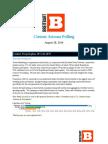 Arizona Senate Primary Poll for Public Release