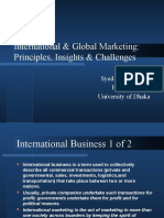 2. Concept of International and Global Marketing
