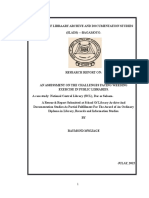 Raymond Mwijage Research Report 2015
