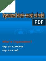 Org. Beh Model