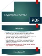 Cryptogenic Stroke