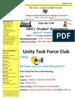 Newsletter 8-29-16