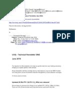 Technical Newsletter SME - June 2016